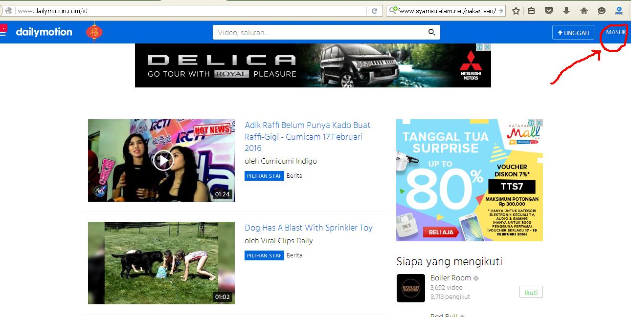 Outbound Malang in Dailymotion